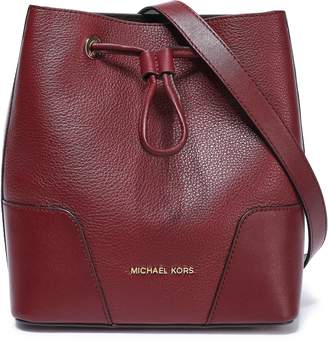 MICHAEL Michael Kors Pebbled Leather Bucket Bag