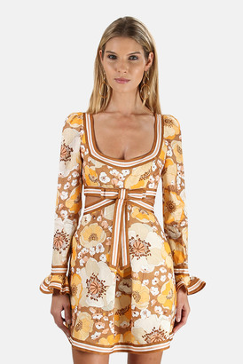Zimmermann Super Eight Ribbon Mini Dress