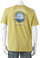 Caribbean Joe Men's Back-Print Sport Fishing Tee