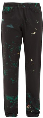 Cottweiler Cruise Abstract-print Technical Trousers - Mens - Black Green