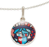 Alex and Ani Freedom Art Infusion Necklace Charm