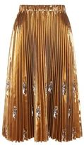 No.21 No. 21 Pleated Midi Skirt