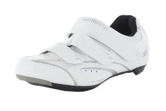 Shimano Women's Cycling Shoes Road Bike Shoe Sh SPD-Sl WR32G 43Velcro Fastener Womens Fahrradschuhe Rennradschuhe SH-WR32 GR. 4 SPD-SL 3 Klettverschl