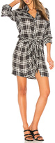 Heartloom Flannel Patterned Dress