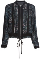 See by Chloe printed jacket