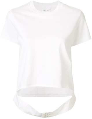 Helmut Lang Femme Belt cut-out T-shirt