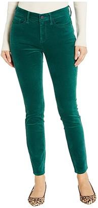 NYDJ Ami Skinny Velvet Jeans in Mountain Pine (Mountain Pine) Women's Jeans