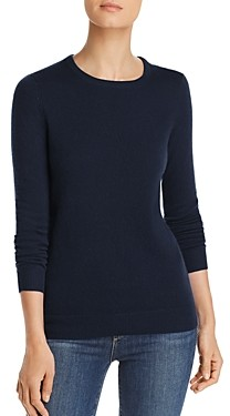 C by Bloomingdale's Crewneck Cashmere Sweater - 100% Exclusive