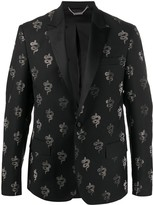 John Richmond studded snake dinner jacket