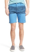 Sol Angeles 'Freemont' Print Chino Shorts
