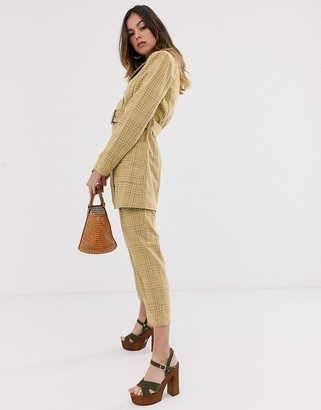 Moon River check trousers