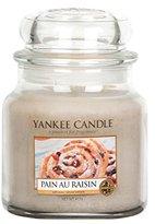 Yankee Candle Medium Jar Candle, Pain Au Raisin