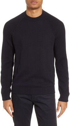 Vince Mix Ribbed Slim Fit Sweater