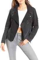 One Teaspoon Women's Vespa Denim Moto Jacket