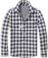 Tommy Hilfiger TH Kids Reversible Check Shirt