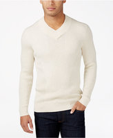 INC International Concepts Men's Ribbed V-Neck Sweater, Only at Macy's
