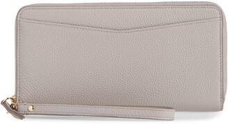Nordstrom Zip Around Leather Continental Wallet