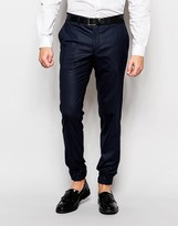 Jack and Jones Pants With Stretch And Cuffed Hem In Slim Fit