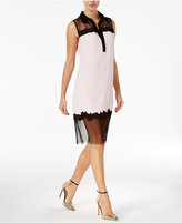 GUESS Marisol Lace Contrast Dress