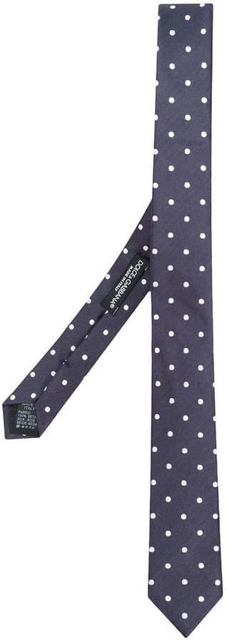 Dolce & Gabbana polka dotted tie