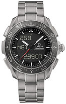 Omega Speedmaster Skywalker men's titanium bracelet watch
