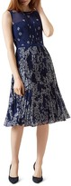 Hobbs London Georgina Floral-Print Dress