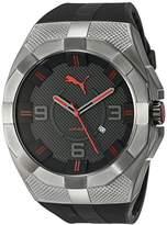 Puma Men's PU103921001 Iconic S Analog Display Quartz Black Watch
