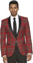 WD.NY Men's Slim-Fit Notch-Collar Tuxedo Jacket