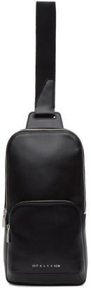 Alyx Black Leather Crossbody Bag