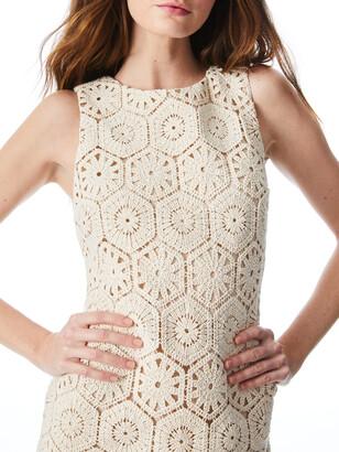 Alice + Olivia Clyde Crochet Shift Dress
