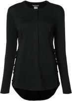 Thomas Wylde Dawn ruffled trim shirt - women - Cotton - XS