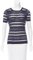 Timo Weiland Striped Knit Top