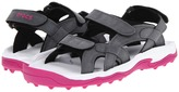 Crocs XTG LoPro Sandal W (Charcoal/Fuchsia) - Footwear