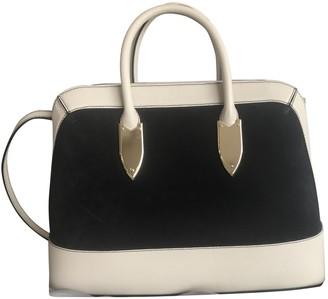 Max Mara Navy Suede Handbags