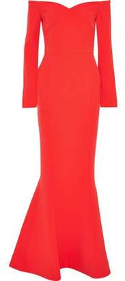 Rebecca Vallance L'amour Off-the-shoulder Cady Gown