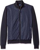 Façonnable Men's Cotton Cashmere Full Zip Cardigan
