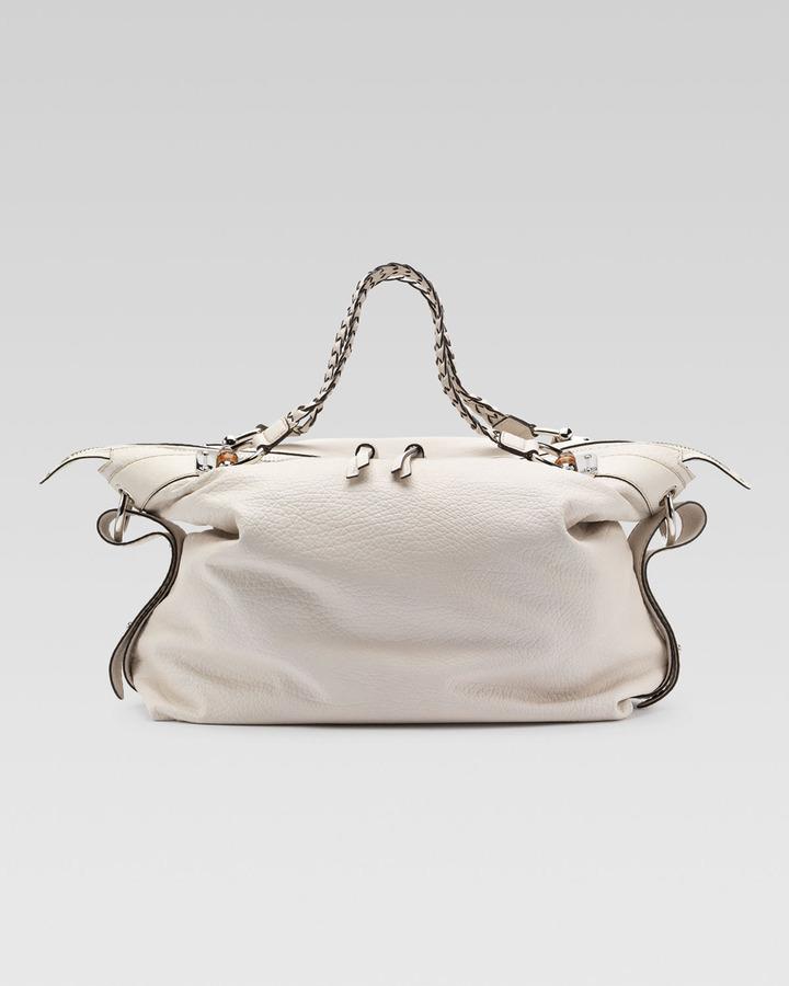 Gucci Bamboo Bar Shoulder Bag, Large