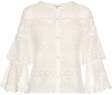 Temperley London Desdemona lace top