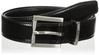 U.S. Polo Assn. Men's Belt Dress Stitched Edge