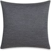 Kenneth Cole New York Escape Striped Square Throw Pillow in Slate