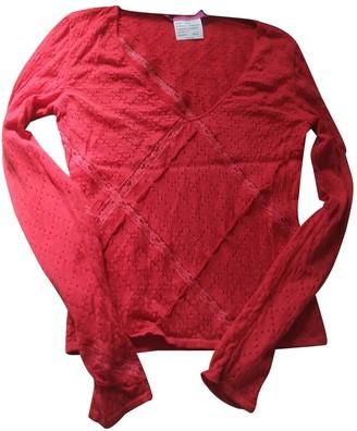 Ungaro Red Cashmere Knitwear