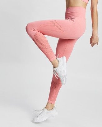 Aim'n - Women's Pink Full Tights - Statement Seamless Tights - Size XS at The Iconic