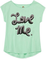 Total Girl Short-Sleeve Graphic Tee - Girls 7-16 and Plus