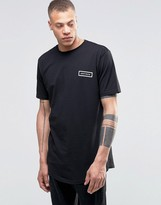 Antioch Curved Hem T-Shirt with Rectangle Logo