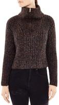 Sandro Muffin Mélange-Knit Sweater