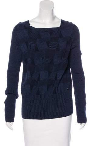 Chanel Cashmere & Wool-Blend Sweater