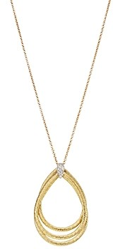 Marco Bicego 18K Yellow Gold Cairo Pendant Necklace with Diamonds, 16.5
