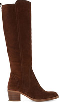 Dune Twitchell Suede Knee-High Boots