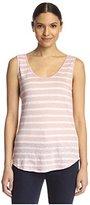 Velvet by Graham & Spencer Women's Striped Tank