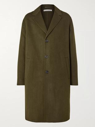 Acne Studios Dali Double-Faced Wool-Twill Coat - Men - Green